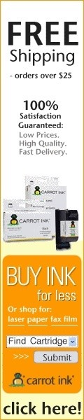 Buy Printer Ink For Less at Carrot Ink!