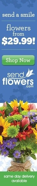 Send Flowers today with Send Flowers!